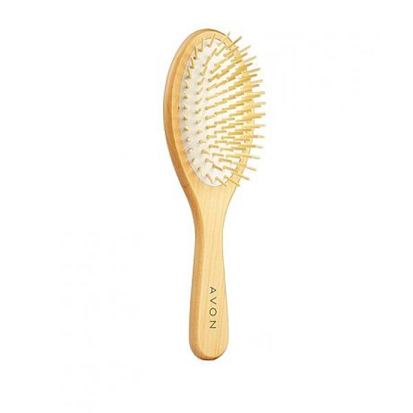 Дървена четка за коса