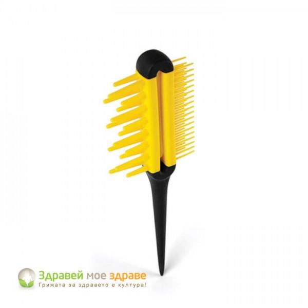 Двустранен гребен за коса