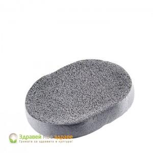 Гъба с активен въглен за почистване на лице