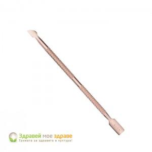 Инструмент за избутване на кожички с два края