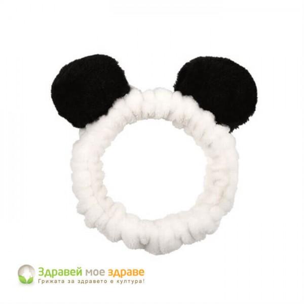 Лента за коса Панда