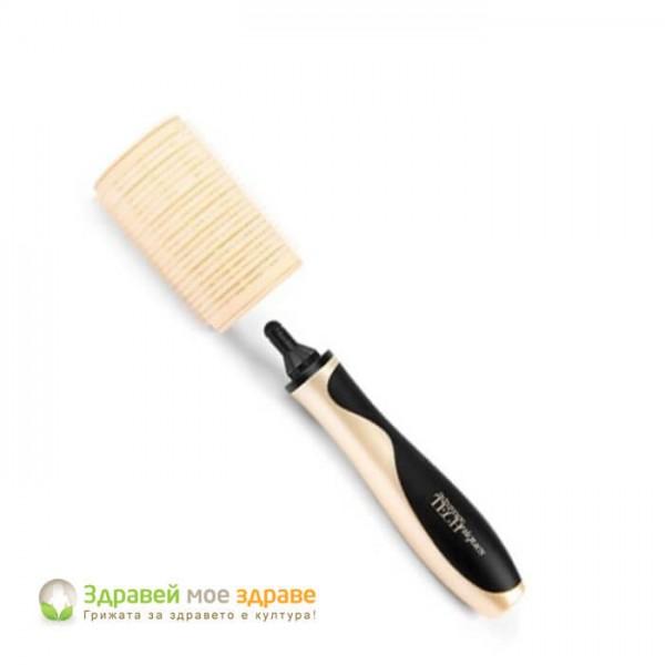 Комплект ролки за коса с дръжка