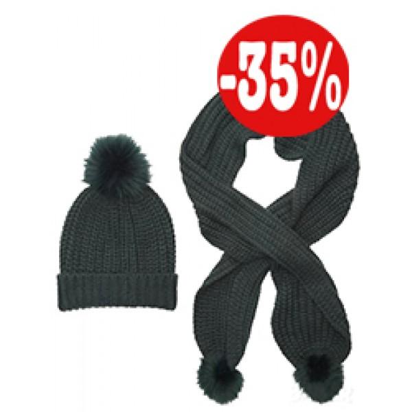 Комплект шапка и шал Ilsha