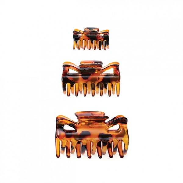 Кoмплект от 3 шноли за коса