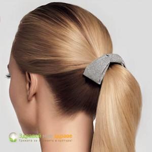 Шнола за коса с форма на панделка