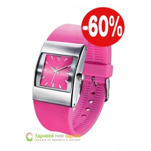 Дамски часовник Pink Strap