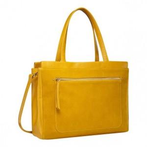 Дамска чанта тип органайзер - yellow