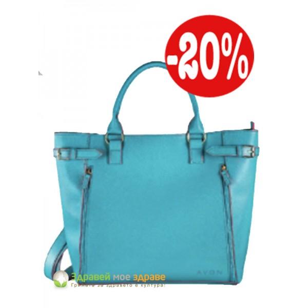 Дамска чанта от Лого колекция