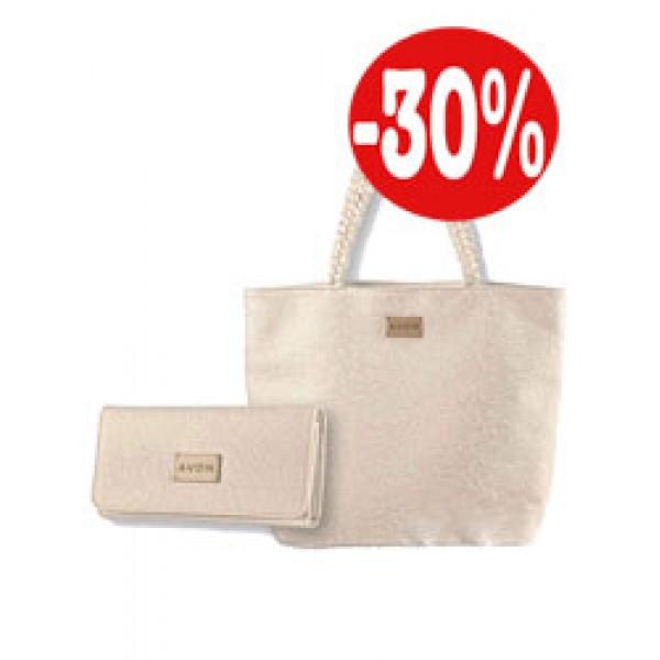 Дамска чанта и портмоне Lace