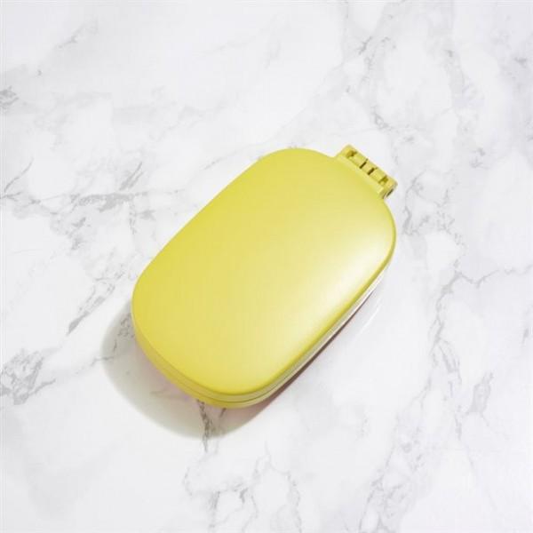 Сгъваема четка за коса жълта