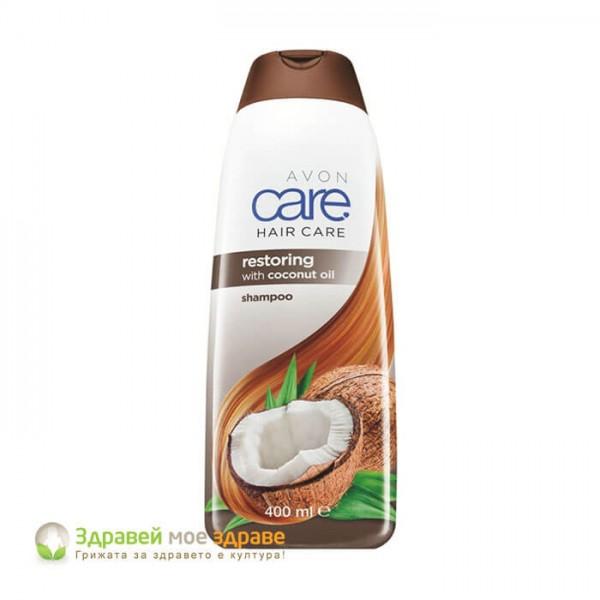 Шампоан с кокосово масло