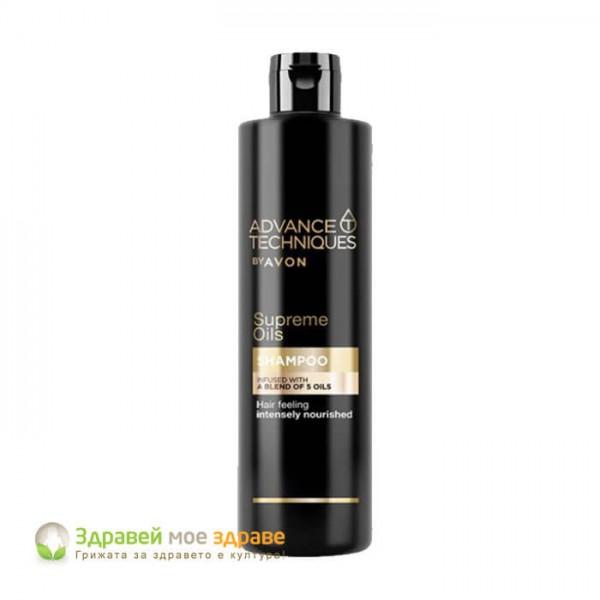 Шампоан Supreme Oils с комплекс Nutri 5