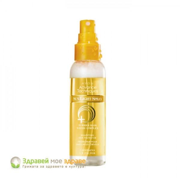 Спрей за коса с UV филтър