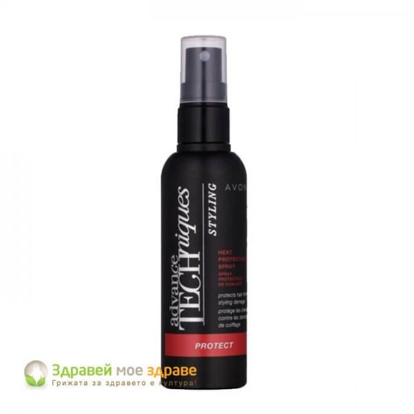 Спрей за коса за топлинна защита
