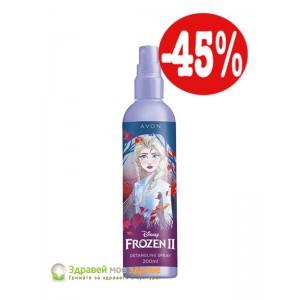 Разплитащ спрей за коса Frozen