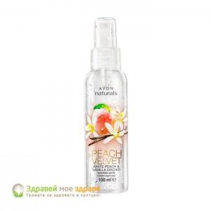 Спрей за тяло с аромат на праскова и ванилия