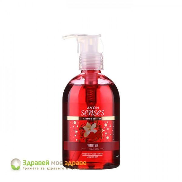 Течен сапун Winter Treasure Avon Senses