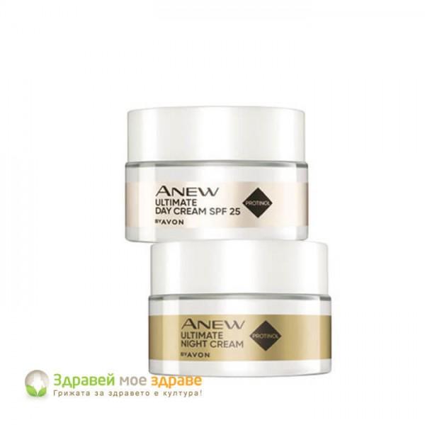 Комплект Anew Ultimate Protinol с SPF 25