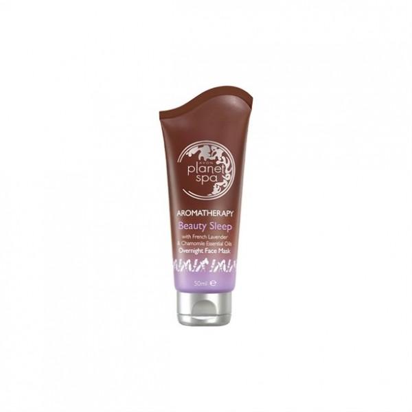Маска за лице Planet Spa с етерични масла от френска лавандула и лайка