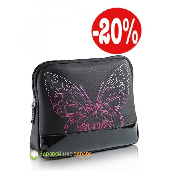 Козметична чантичка Butterfly