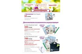 Маркетингови акции м. Април