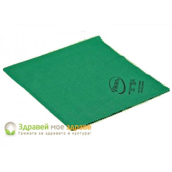 Малка кърпа за почистване на прозорци - зелана