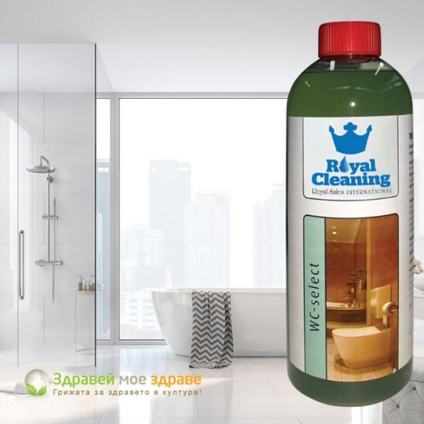 Почистващ препарат за тоалетни WC ГЕЛ