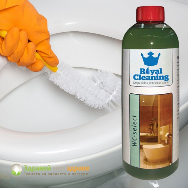 Почистващ препарат за тоал�...