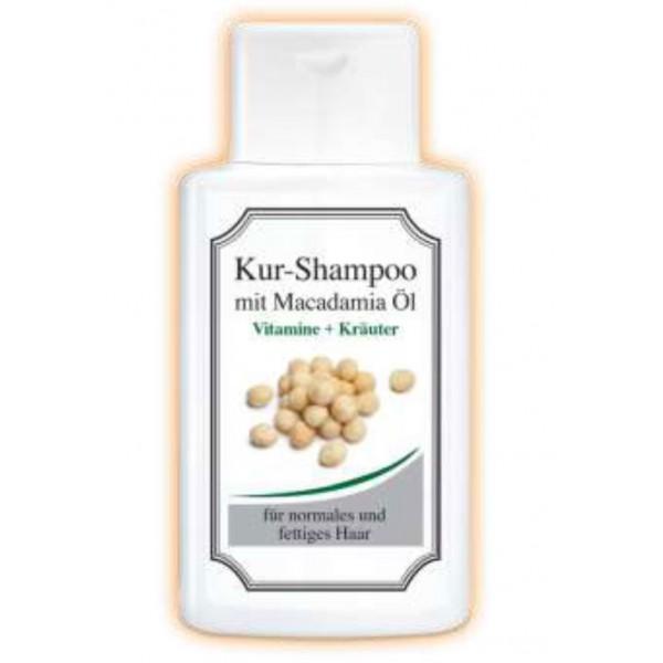 Витаминен билков шампоан с масло от Макадамия