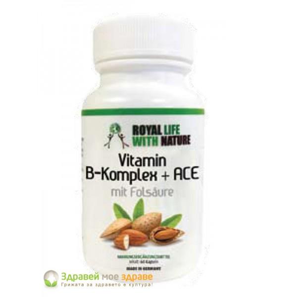 Витамини В-комплекс + АСЕ с �...