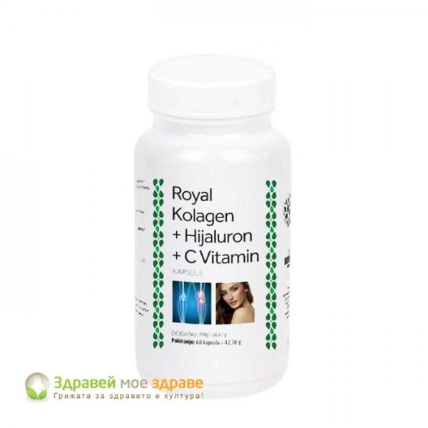 Колаген + хиалурон + витамин С