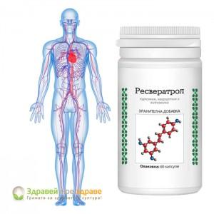 РЕСВЕРАТРОЛ - куркумин, кверцетин и витамини капсули