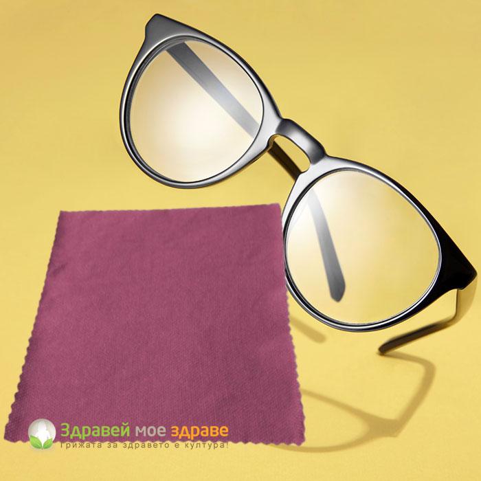Кърпа микровлакна за оптика
