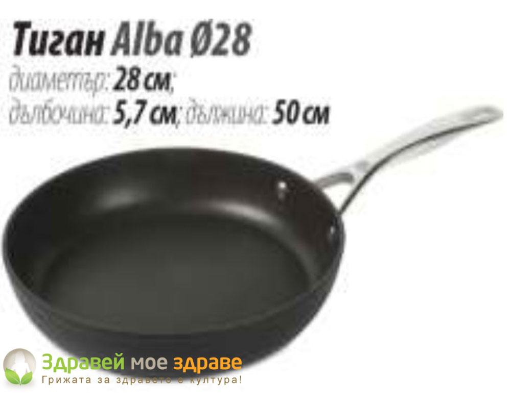 Титанов тиган Alba Ф28