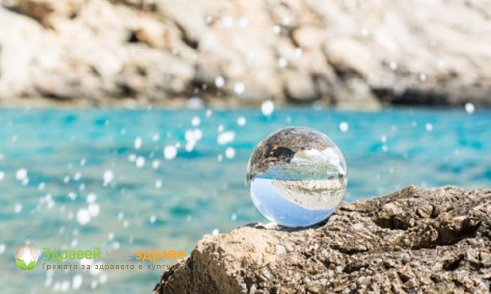 Лечебните свойства на морската вода